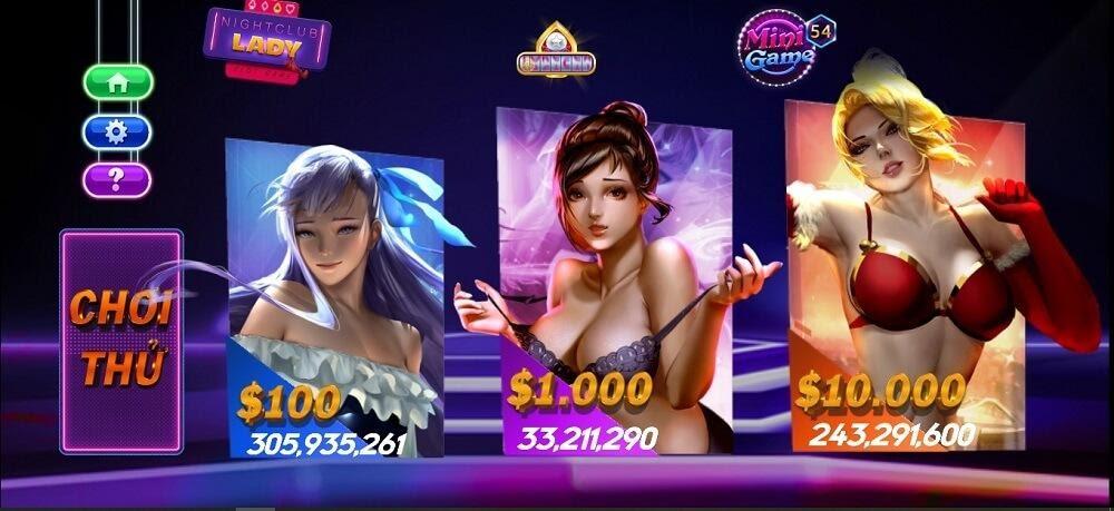 Night club lady là một slot game đang rất hot tại RikVIP