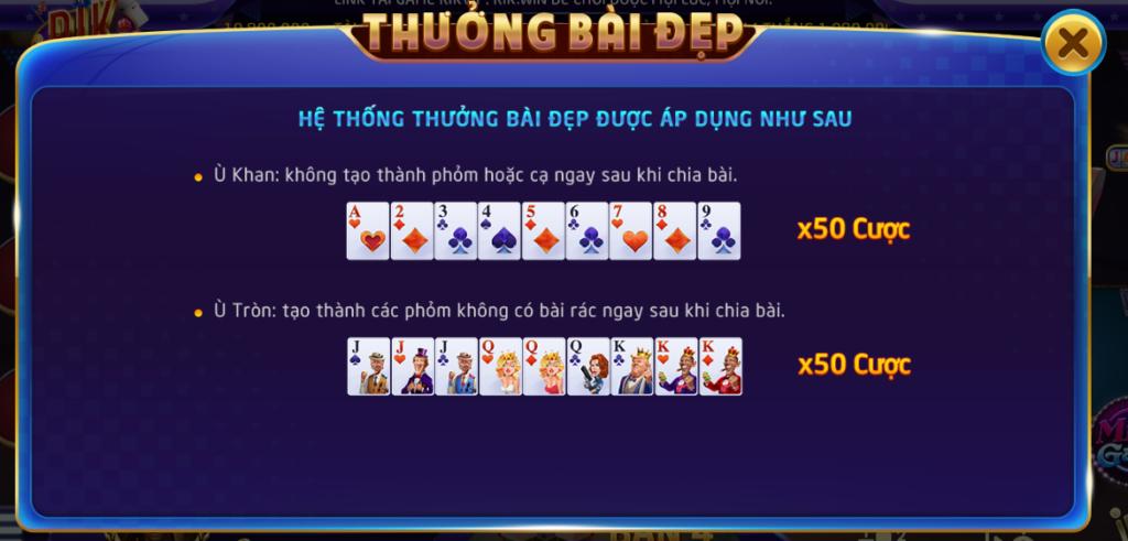 Phỏm là trò chơi phổ biến nhất trên những cổng game trong đó có RikVIP