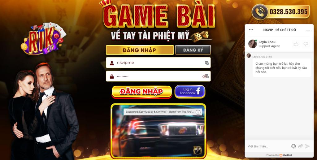 Rikvip là một trong những cổng game lớn và uy tín hàng đầu tại Việt Nam