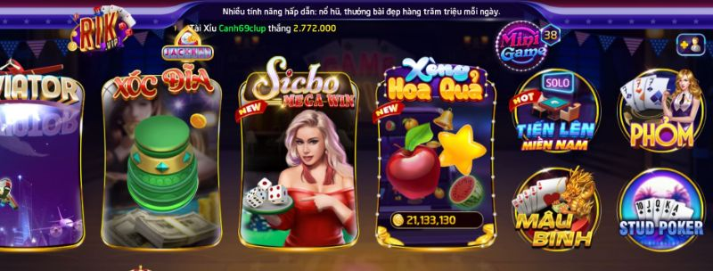 Sicbo Megawin là một trong những game mới chinh phục được người chơi